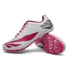 Shoes Sneakers Spikes Track-Field Running Men Athlete Lightweight Racing-Match Women