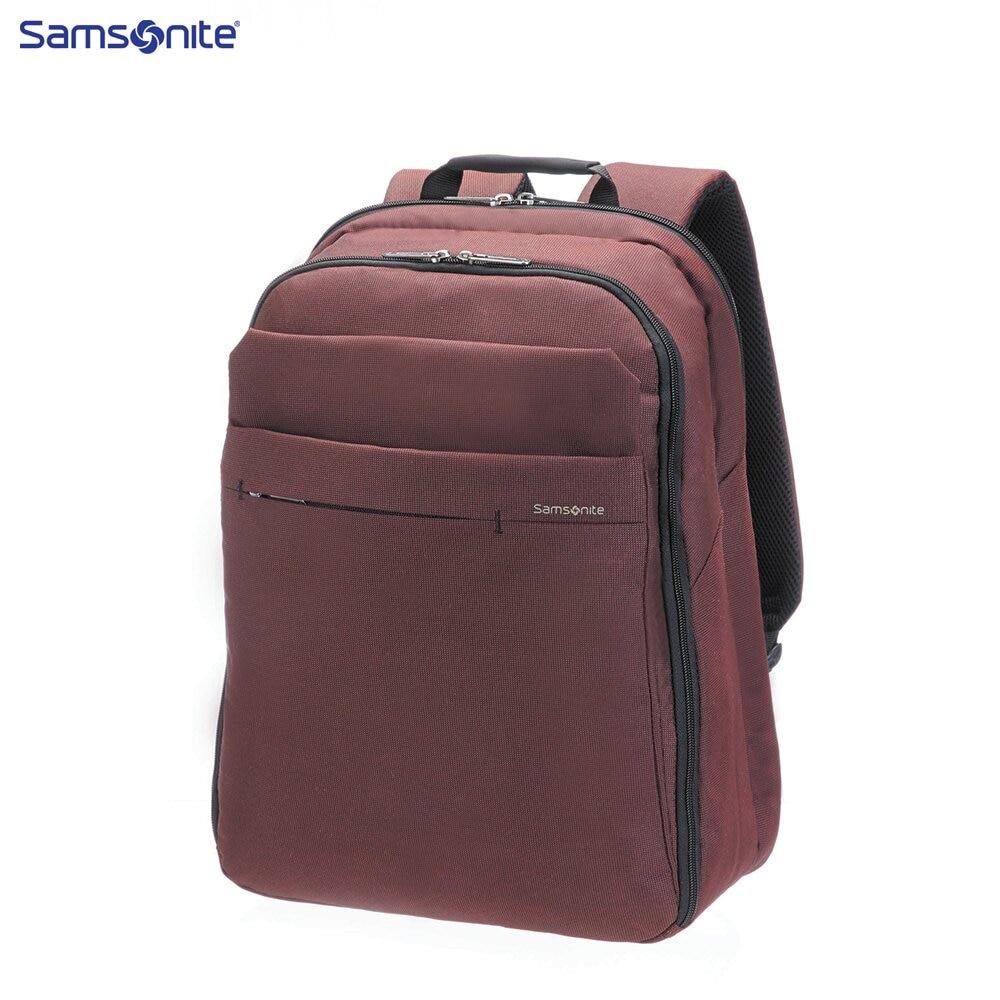 Laptop Bags & Cases Samsonite SAM41U00800 for laptop portfolio Accessories Computer Office backpack Men protector plus brand camouflage military backpack multi function wear resisting nylon laptop backpack mochila feminina p006