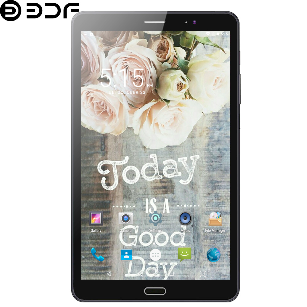 2019 New 8 Inch Tablet Pc 4G LTE Phone Call SIM Card Android 7.0 Octa Core 4+64G CE Brand WiFi Bluetooth 1920x1200 IPS HD Screen