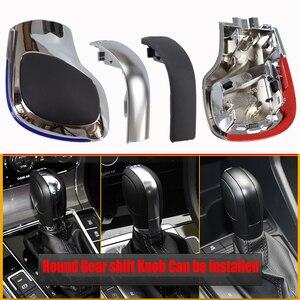 Image 3 - Automatic GearShift Knob For Volkswagen VW Golf 6 7 R GTI Passat B7 B8 CC R20 Jetta MK6 GLI ABS Leather Stick Lever Knob Shifter