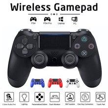 Jogo joystick para sony ps4 controlador sem fio bluetooth para playstation 4 pro/magro/pc/ipad/tablet/vapor/dualshock 4 gamepad