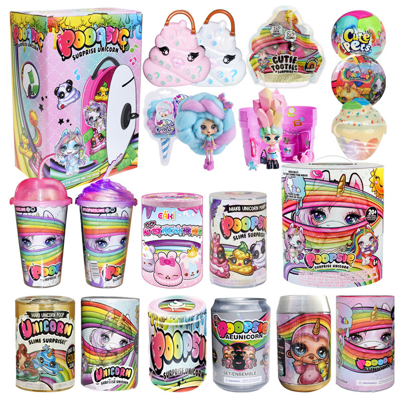 Poopsie Surprise Slime Unicorne Cans Sparkly Girls Toys Hobbies Accessories Rainbow Bright Star Or Oopsie Starlight Toys