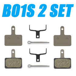 2 Pair B01S Brake pads Resin Disc Brake Pads for MTB MT200/M315 / M355 / M395 / M446 / M575 / M486 / M485 / M445