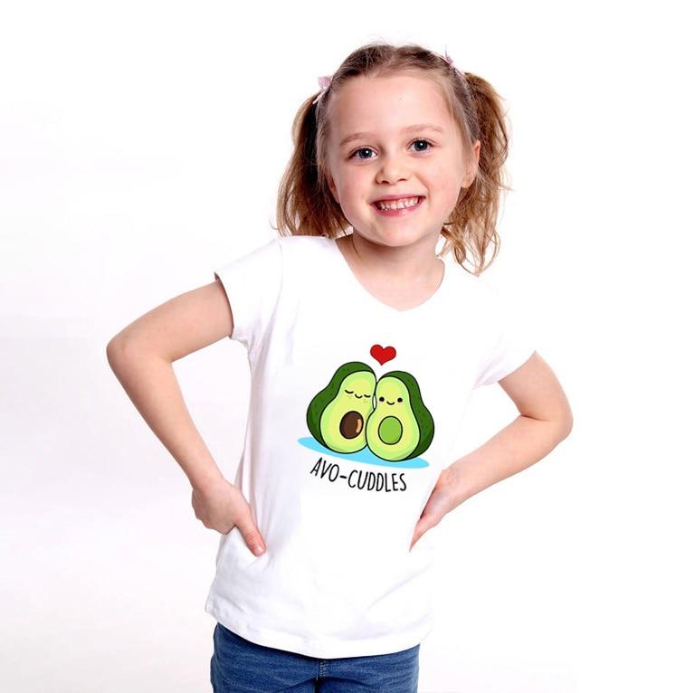 Cute Kids Girls Boys Smile Fruit Blouse Unisex Newborn Cotton T-Shirt Top Shirt