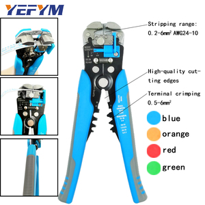 Image 2 - YEFYM Repair Tools Multi Wire Stripper Pliers Cutter Clamp 6mm2 Functional Mini Carbon Steel Multifunctional Electrical
