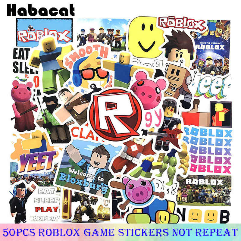 Roblox Girl Gfx Sticker By Princess 50 Pcs Pack Cartoon 3d Diy Creation Game Roblox Stickers Toy For Children Motorcycles Skateboard Phone Scrapbooks Desk Pegatinas Stickers Aliexpress