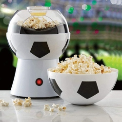 Football Explosion Machine Home Football Electric Popcorn Machine Children Food Small Puffing Machine UK Plug