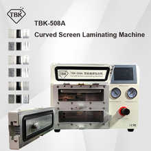 2019 New TBK-508A Curved Screen Laminating and Debubble Machine LCD Edge Laminating Machines For samsung iPhone iPad with moulds - DISCOUNT ITEM  22% OFF Tools