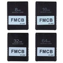 Карта памяти FMCB v1.953 для PS2 Playstation 2, Бесплатная карта McBoot 8 Мб 16 Мб 32 Мб 64 Мб OPL MC, Карта программы загрузки