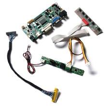 Ajuste lm215db/lm215dt1a/5a/6a/7a/8a/9a hdmi vga dvi 30 pinos matriz 60hz wlde 1920*1080 lvds m. nt68676 monitor controlador placa kit