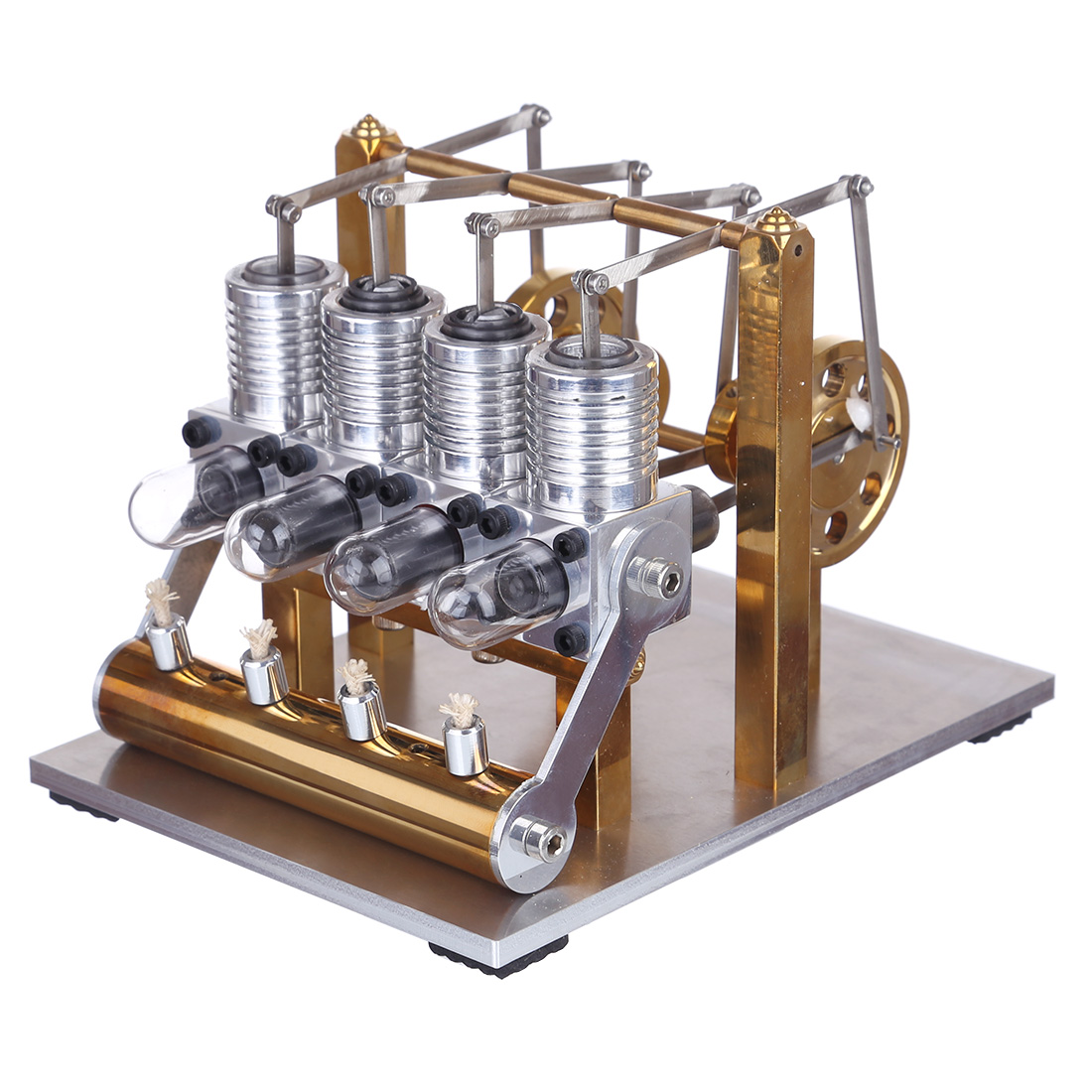 4 Cylinder Stirling Engine