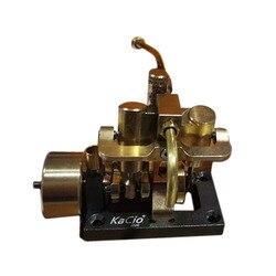 Surwish 1 Pcs Mini Inline Doppel-Zylinder Schaukel Dampf Motor Modell Für Innerhalb 40cm Retro Boot Modelle (ohne Kessel) neue Heiße
