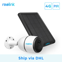 Reolink 4G Sim-Card Battery-Powered Ip-Camera Rechargeable Weatherproof DHL with
