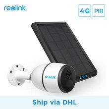 [Wysyłka przez DHL]Reolink 4G LTE camera GO 1080p praca z kartą SIM odporny na warunki atmosferyczne akumulator zasilany z baterii ip camera