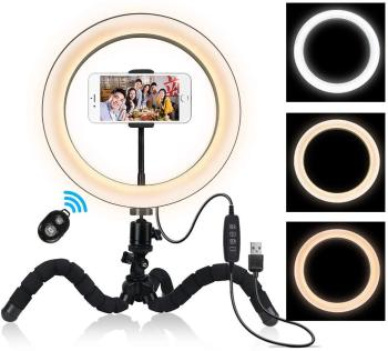 LED Selfie Ring Light for Youtube Video Live Streaming And Photography Studio With USB Port