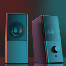 Mini Computer Speakers for Home Theater System HIFI Speaker PC Desktop Surround Sound Box USB Column Subwoofer Caixa De Som