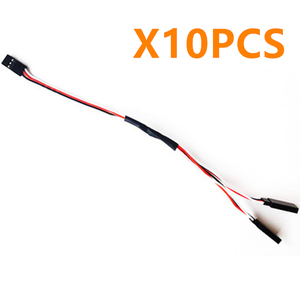 10Pcs 300mm RC Servo Extension