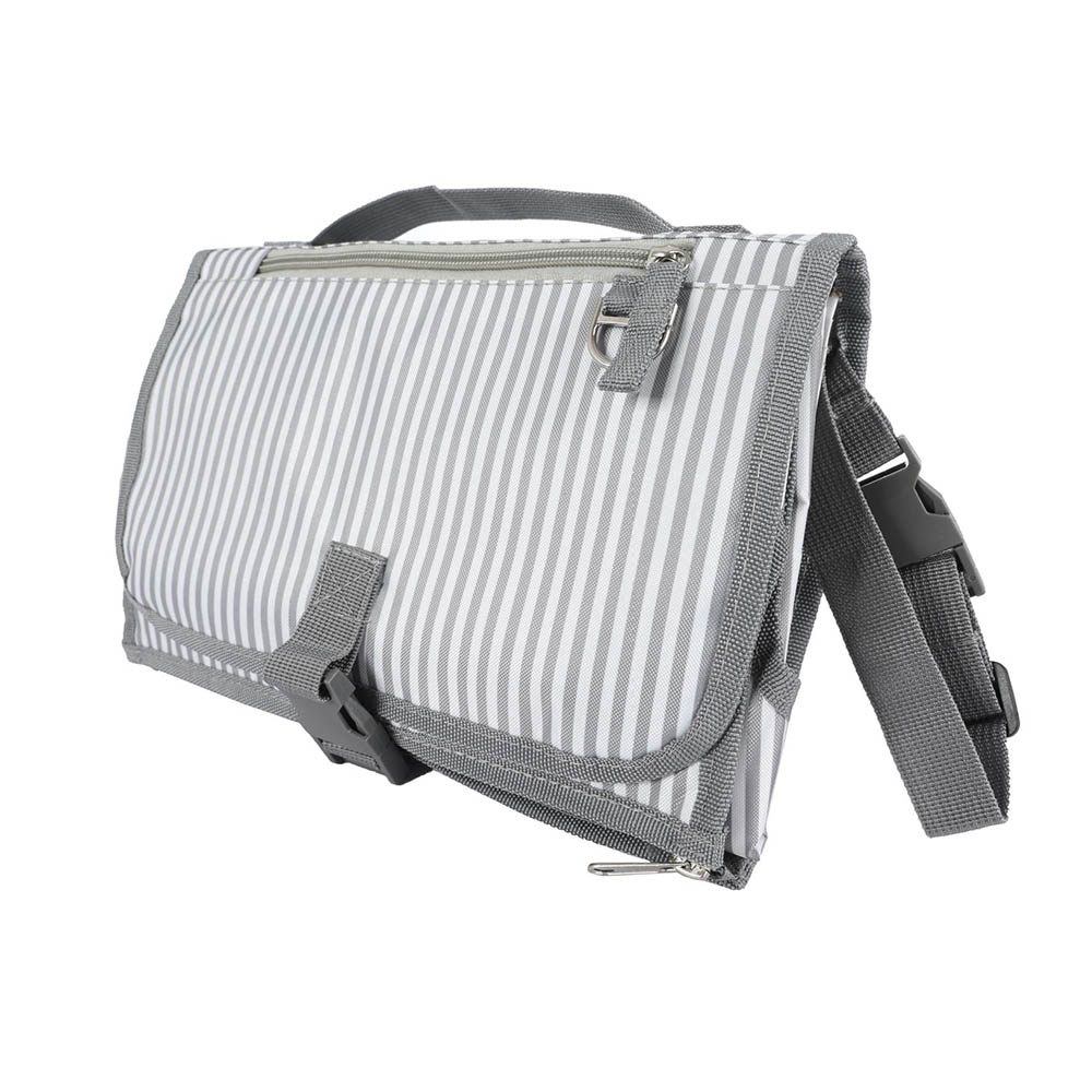 Новые 3 в 1 Водонепроницаемый пеленальный коврик пеленки мнчества, Портативный чехол для детских подгузников коврик чистой ручной складной сумка из узорчатой ткани - Цвет: 83