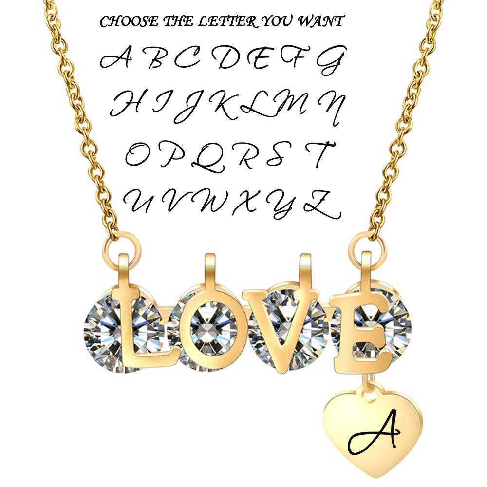 love gold letter