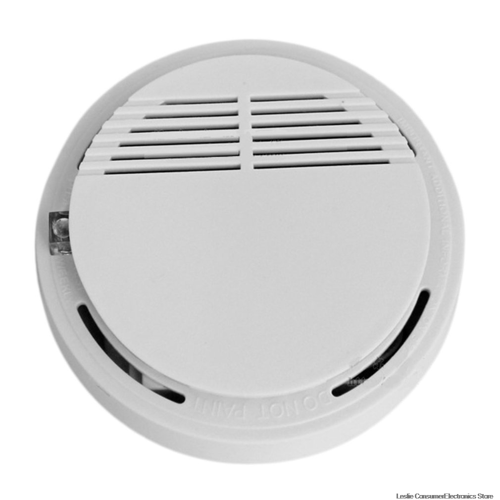 Independent Type High Sensitive Photoelectric Smoking Detector Alarm Fire Smoke Sensor Home Security System