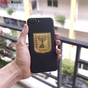 Image 3 - 3 ratels MT 032 # 国章コートの腕のイスラエルのため携帯電話ノートブックニッケル金属車のステッカー