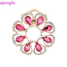 Qiong Fu t sun flower brooch ladies large wedding pin new scarf jewelry gift