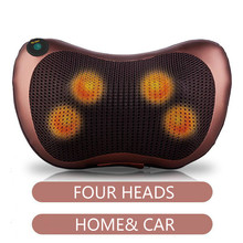 Electric Massage Pillow Kneading Heating Neck Shoulder Waist Relaxing Muscle Body Relaxation Massage Pillow Massager car neck pillow electric massage pillow massager cushion relax neck back shoulder pillows with heating