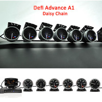 Defi Advance A1 Defi Link System Daisy Chain Auto Gauge ZD+6 gauges Volt Water Temp Oil Temp Oil Press Tachometer RPM Turbo