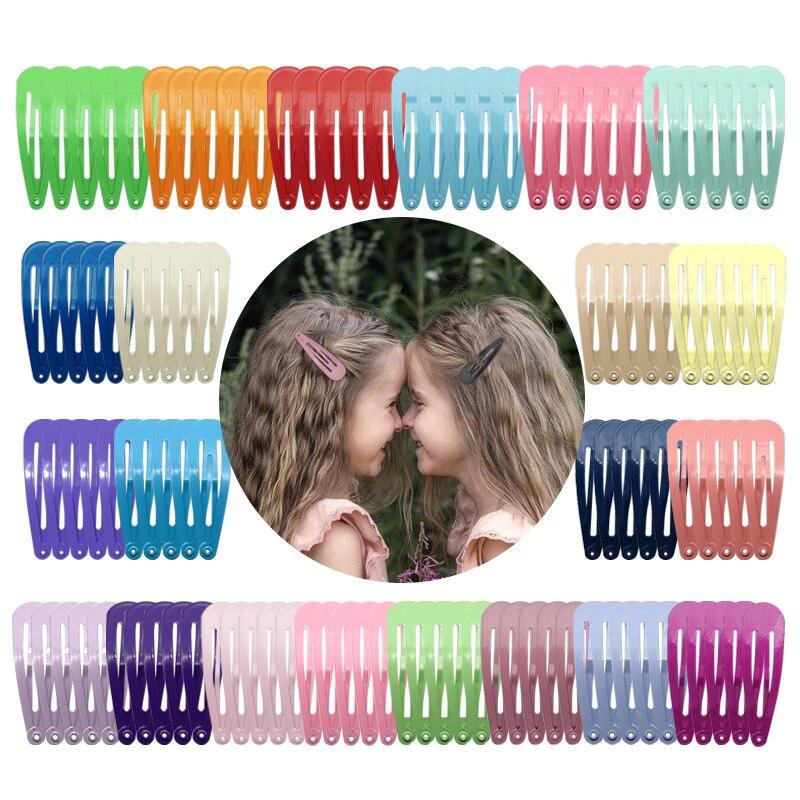 Saç klipler kadınlar kızlar Waterdrop şekli tokalar tatlı klipler tokalarım slayt klip Metal saç şekillendirme moda saç aksesuarları