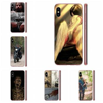 Mobile Phone Cover Darly Dixon The Walking Dead Zombies For Apple iPhone 4 4S 5 5C 5S SE SE2 6 6S 7 8 11 Plus Pro X XS Max XR image