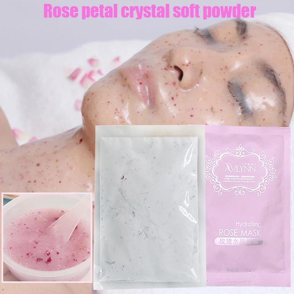 Rose Facial Peel Off Mask Powder Face Mask Powder Anti-aging Whitening Cream Acne Oil-Control Mask Powder Skin Care