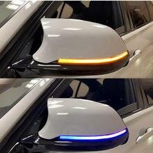 Espelho retrovisor Dinâmica Blinker Turn Signal LED light para BMW F20 F30 F31 F21 F22 F23 F32 F33 F34 X1 E84 F36 1 2 3 4 F87 M2 lâmpada