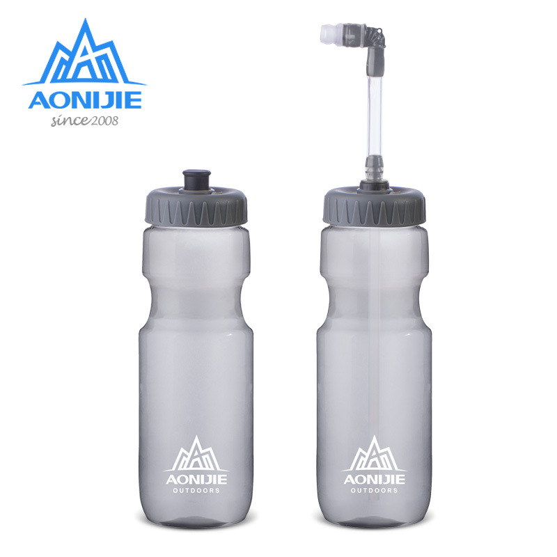 Aonijie Outdoor Water Bottle 700ml Straw Option Water Cup Kettle BPA Free For Trail Running Hiking Marathon Cycling SD33