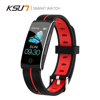 KSUN KSS903 Smart Bracelet Band With Heart rate Monitor ECG Blood Pressure IP68 Fitness Tracker Wrisatband Smart Watch - DISCOUNT ITEM  38% OFF All Category