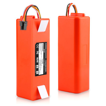 Robotic Vacuum cleaner Replacement Battery for Xiaomi Robot Roborock S50 S51 S55 Accessory Spare Parts li-ion battery 6500mAh