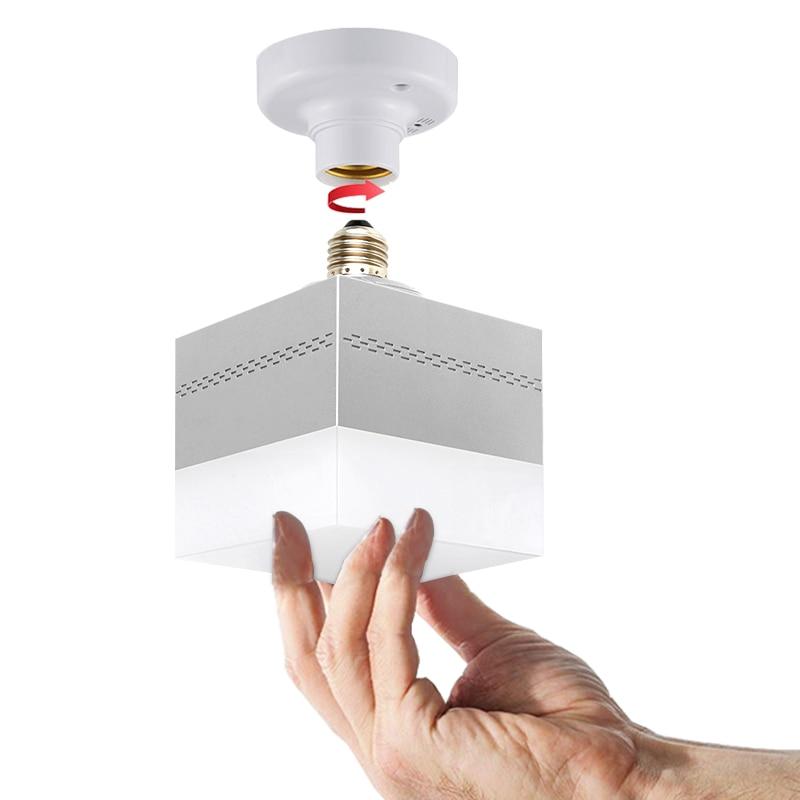 E27 Lamp Base Sound Voice Control AC 220V LED Sound Voice Control Delay Switch LED Lamp Bulb Holder For Corridor