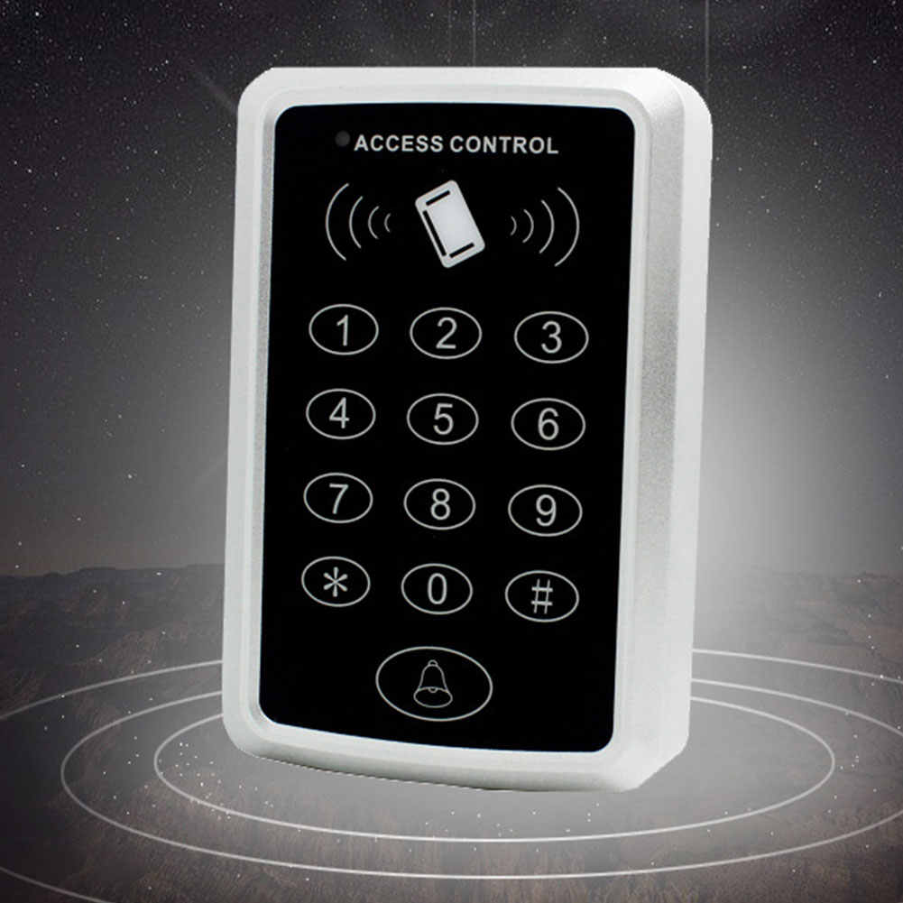 Système de sécurité à la maison de contrôle d'accès d'empreinte digitale sécurité de proximité entrée de Protection Code RFID pour le mot de passe de carte de balayage de serrure de porte