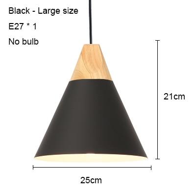 Black 250mm no bulb