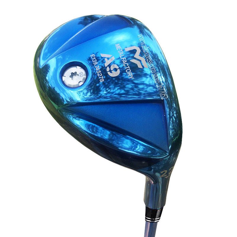 New Golf Hybrids Clubs Metalfactory A9 Golf Clubs 19 Or 22 25 Hybrid Wood Graphite Shaft R Or S Golf Shaft Cooyute Free Shipping