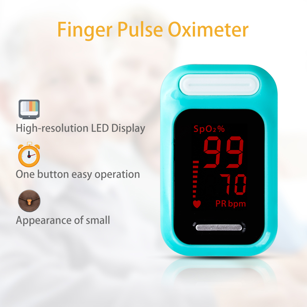 ELERA Finger Pulse Oximeter with OLED Display to calculate Blood Oxygen Saturation 16