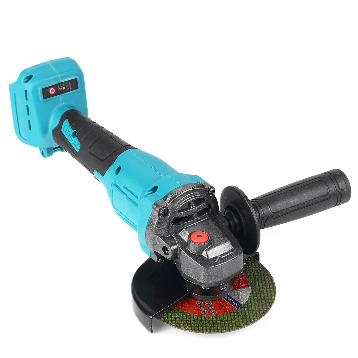 Tools : Brushless Angle Grinder 125mm 800W 20000rpm Electric Angle Grinder Machine with 4pcs Angle Grinding Disc for Makita 18V Battery