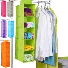 5 estantes de ropa organizadores colgantes de pantalones sostenedor de armario sección de almacenamiento organizador de Zapatos Ropa