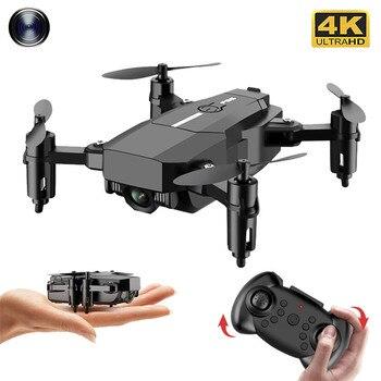 цена на 2020 New F86 Mini Drone Hd 4K Camera Wifi Fpv Foldable Quadcopter Gravity Sensor 360 Degree Roll Fixed Pressure Rc Drone Toy