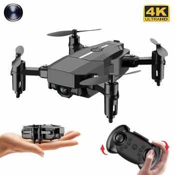2020 neue F86 Mini Drohne Hd 4K Kamera Wifi Fpv Faltbare Quadcopter Schwerkraft Sensor 360 Grad Rolle Festen Druck rc Drone Spielzeug