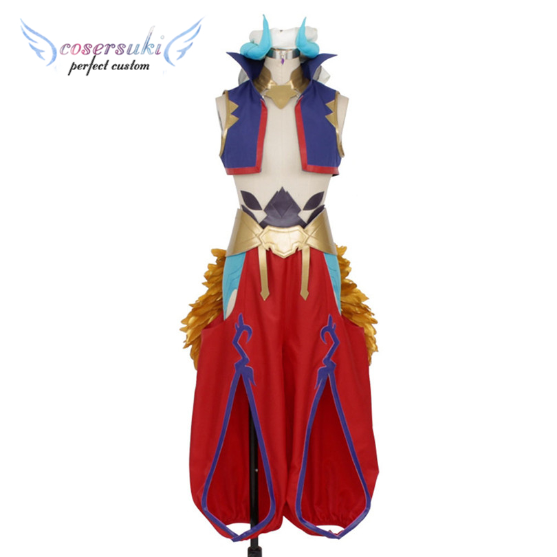 FGO King Gilgamesh Stage Uniform Cosplay Costume For Halloween , Perfect Custom For You !