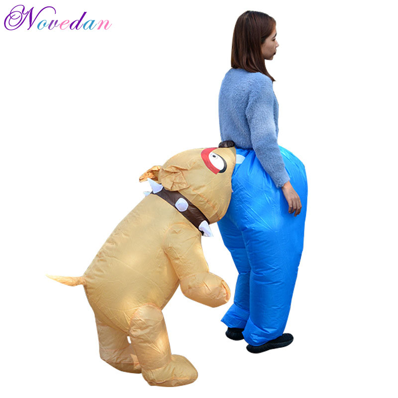 Inflatable Costume Halloween Christmas Cartoon Costume for Adult Woman Man Dance Party Performance Inflatable Costume