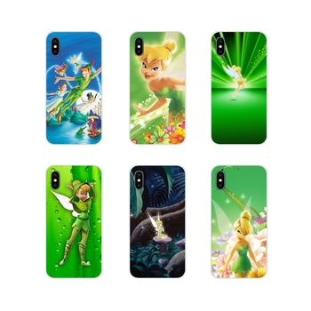 Peter Pan Wendy Tinkerbell Tinker bell For Xiaomi Mi4 Mi5 Mi5S Mi6 Mi A1 A2 5X 6X 8 9 Lite SE Pro Mi Max Mix 2 3 2S TPU Bag Case image