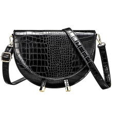 цены Fashion Brand Women Bag Alligator PU Leather Messenger Bag Designer Lady Shoulder Crossbody Bag Stone Women Handbag Bolso Mujer