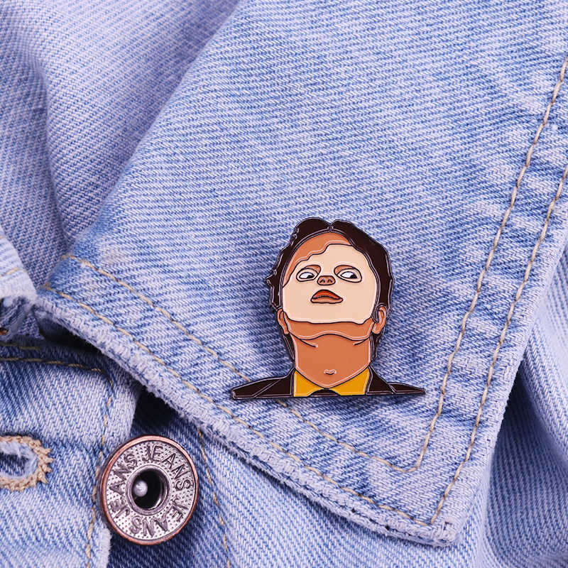 Dwight Schrute Masker Emaille Pin Het Kantoor Pop Cultuur Fandom Collection