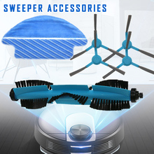 Newly Main Side Brush Mop Cloth Kit Sweeping Robot Vacuum Cleaner Replacement Accessories DAG-ship proscenic 790t robot vacuum cleaner replacement kit 1 pc of bristle brush